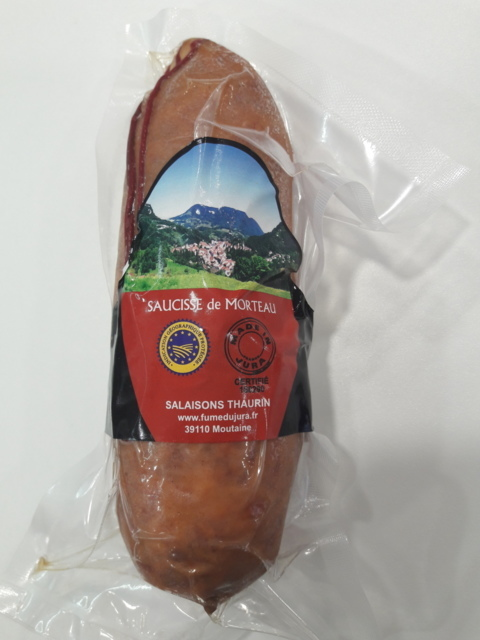 Saucisses - Saucissons - Terrines Saucisse de Morteau IGP LABEL 400g